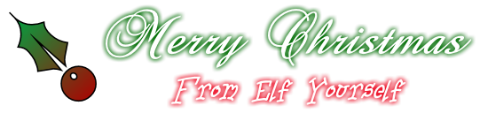 Merry Christmas From Elf Yourself!